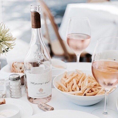 Thank God it's .... #friday #rosé #wine #nearlytheweekend