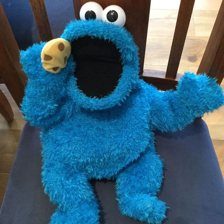 Cookie Monster  Me So Hungry  Singing Talking Plush Hand Puppet Sesame Street