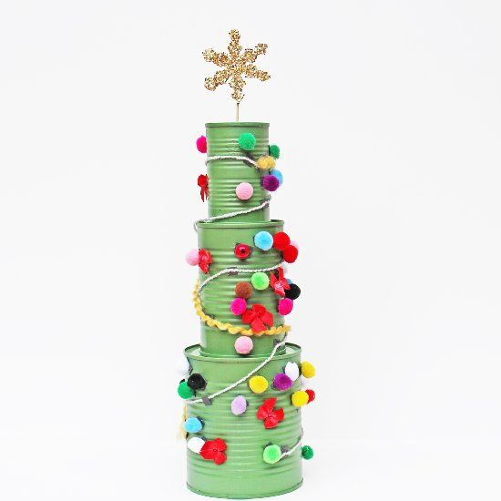 361 best diy tin can remodels images on pinterest tin for Decorating tins for christmas