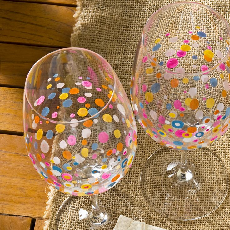 17 best images about gifts under 10 on pinterest for Wine glass painting tutorial