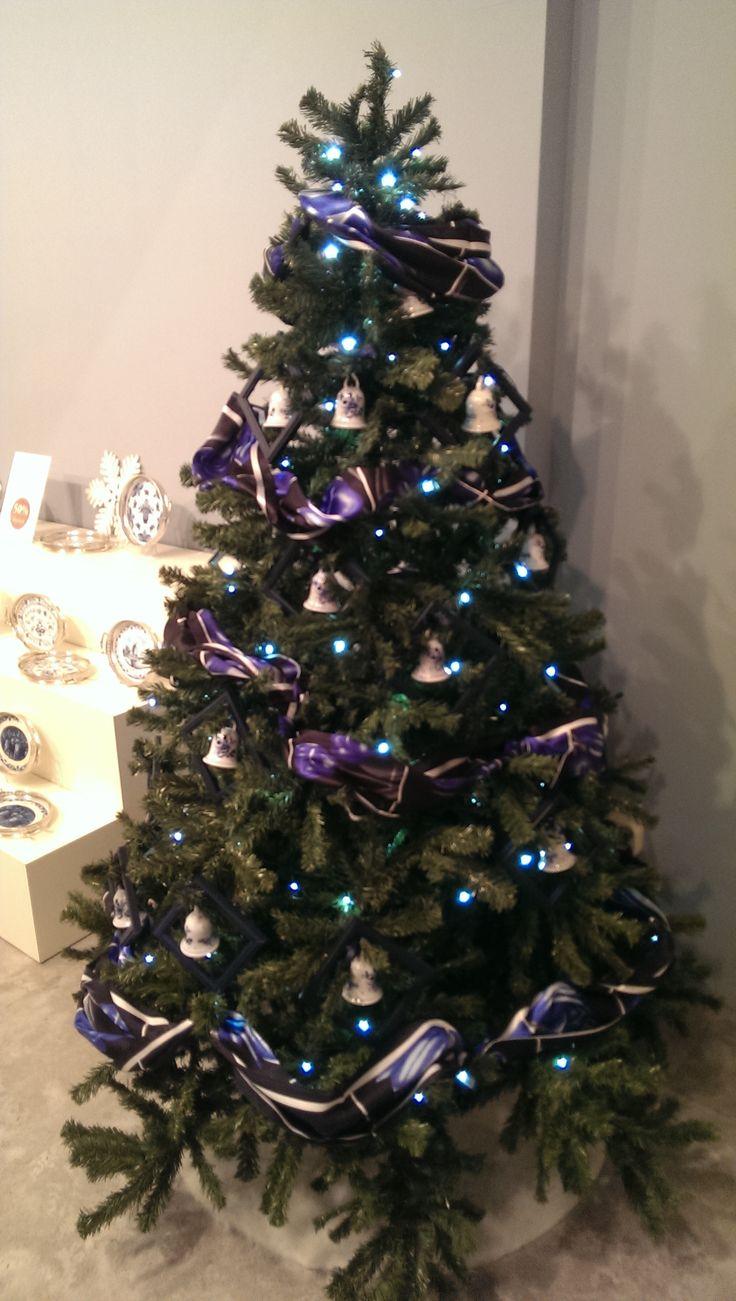 Delft Blue Christmas tree @RoyalDelft