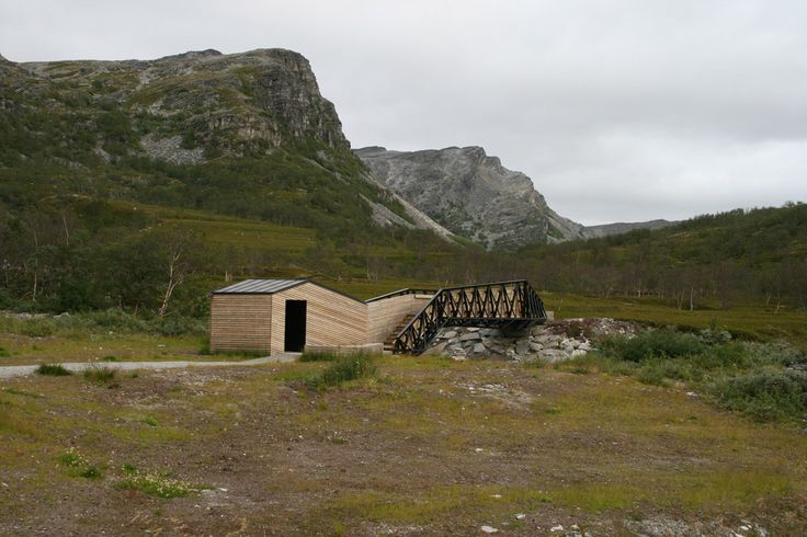 Gallery - Lillefjord Rest area & footbridge / Pushak - 1