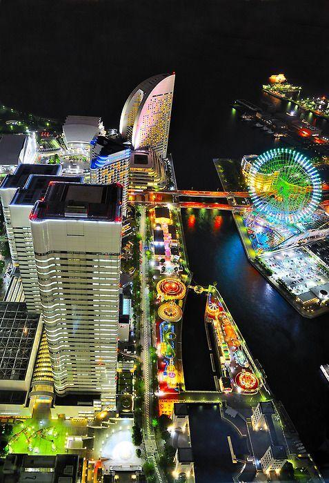 Desde el Yokohama Landmark Tower (via Jokin Sukuntza)