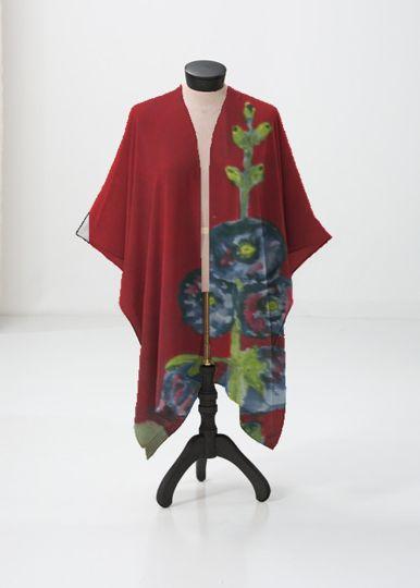 Cashmere Silk Scarf - Hexagram 23: Po by VIDA VIDA NP1sZM7B