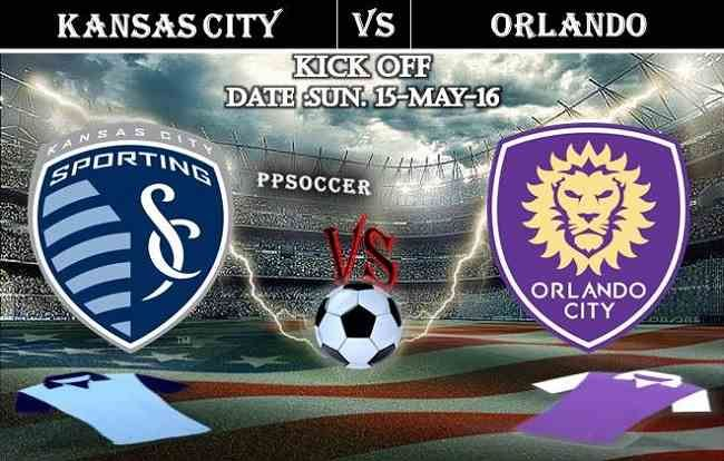 Sporting Kansas City vs Orlando City 15.05.2016 Free Soccer Predictions, head to head, preview, predictions score, predictions under/over USA MLS