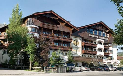 Ferienhotel Kaltschmid Seefeld in Tirol Located in the pedestrian zone in the centre of Seefeld, Ferienhotel Kaltschmid features 2 gourmet restaurants and a large spa area. The indoor pool offers panoramic mountain views. Spa facilities include saunas, a steam bath, and a hot tub.
