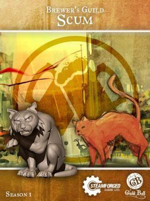 Steam Forge Games - GuildBall: Brewer: Scum #STFBBRE01-003