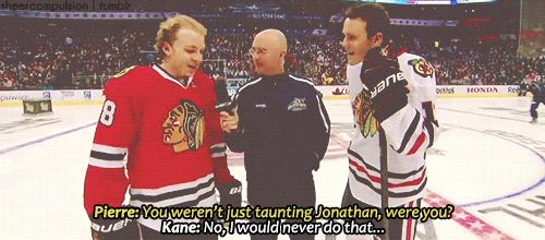 ASG Skills 2015: Patrick Kane sets the record straight after beating Jonathan Toews in Accuracy Shooting