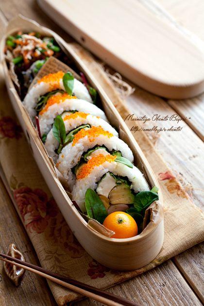 サラダ巻き弁当。 の画像|あ~るママオフィシャルブログ「毎日がお弁当日和♪」Powered by Ameba