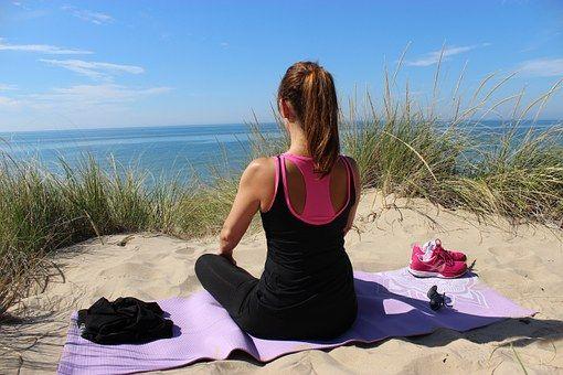 Medytacja, Joga, Kobieta