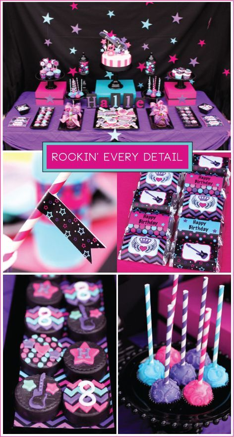 Rock-star Party Ideas: