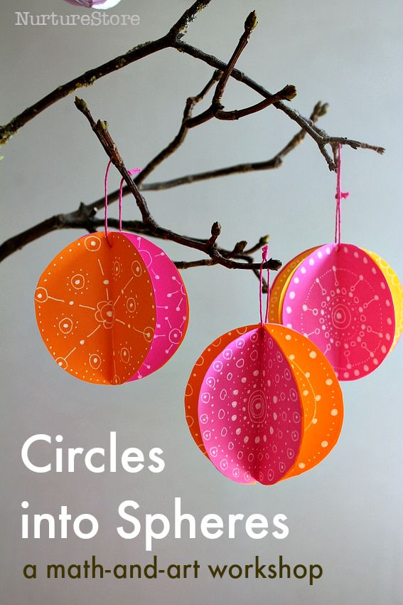 the Art of Circles :: math and art lessons workshop