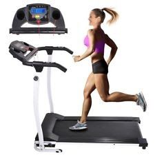 1100W Folding Electric Treadmill Running Fitness Gym Portable Motorized Machine