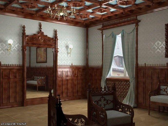 Что представляет собой готический стиль в интерьере