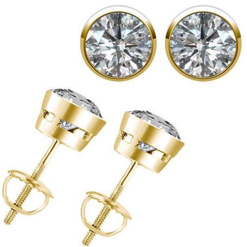 0.30 Karat Brillantohrstecker 585er/750er Gelbgold IF-SI1 u. D-H für nur 999 Euro bei www.juwelierhausabt.de in Dortmund erhälich.   #diamantohrstecker #weissgold #gelbgold #rosegold #weisse_diamanten #schmuck #ohrschmuck #ohrstecker #juwelier #abt #dortmund #karat