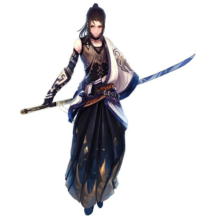 1000 ideas about samurai art on pinterest samurai - Anime female warrior ...