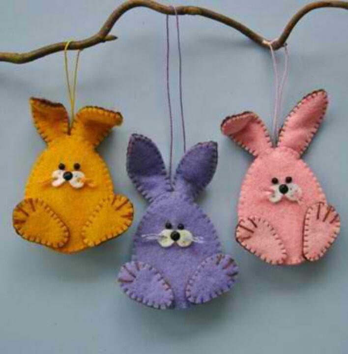 b f64d20b9331d38cffd57ca148c7e1269  felt bunny cute bunny
