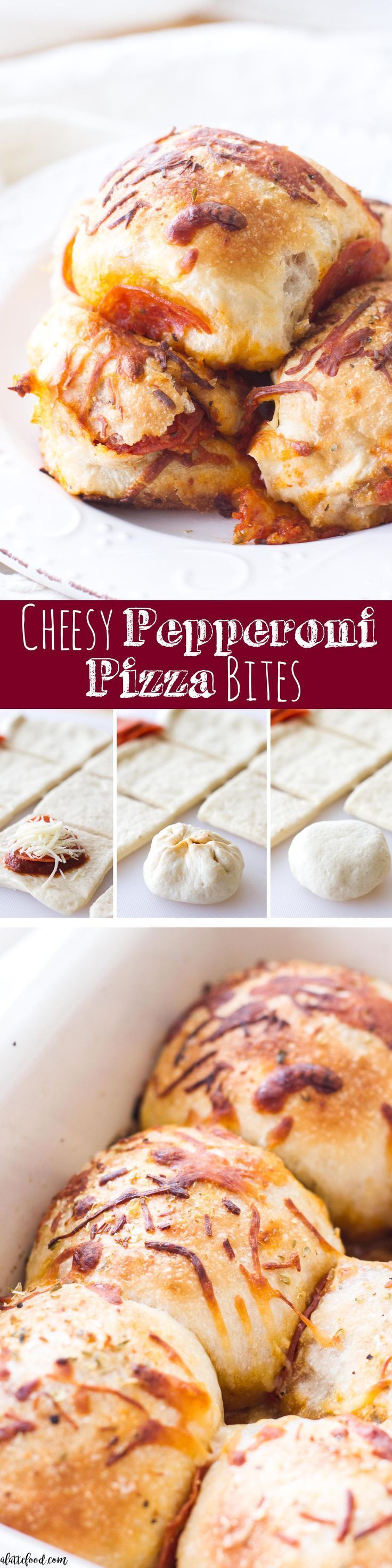 This easy appetizer recipe for Cheesy Pepperoni Pizza Bites is sure to be a hit! They are filled with simple ingredients and come together quickly! Made with RAGÚ®️️️️, this is the perfect tailgating or homegating!