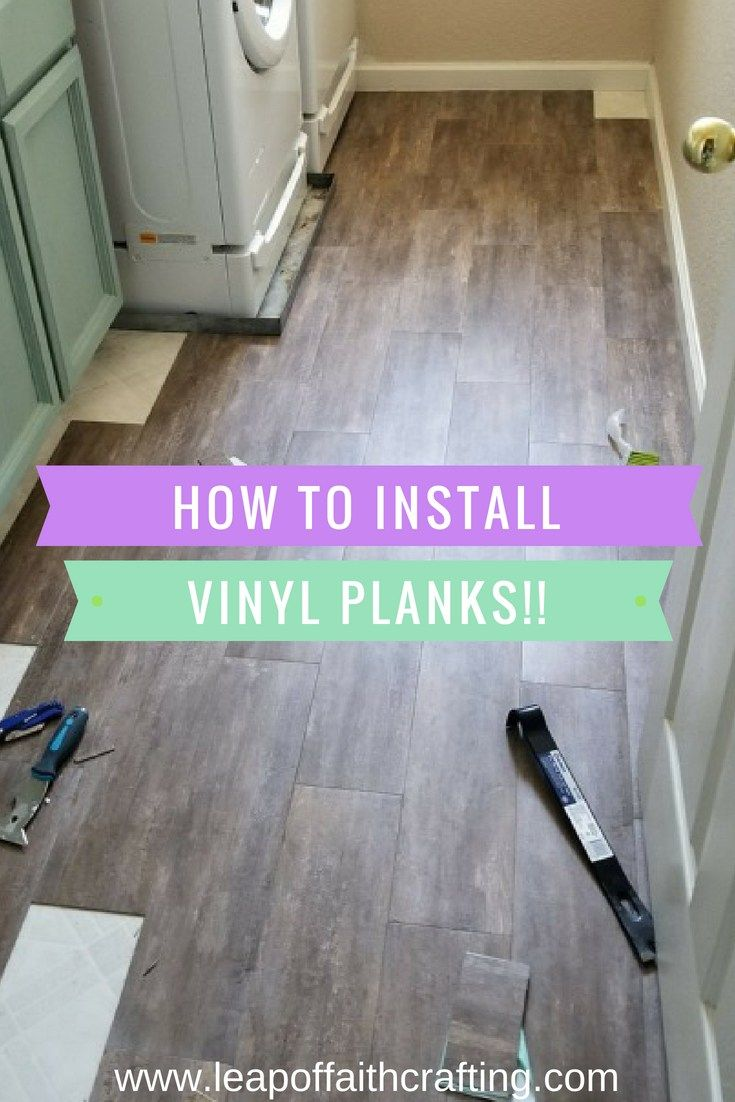 Peel And Stick Planks Are Beautiful And So Easy To Install