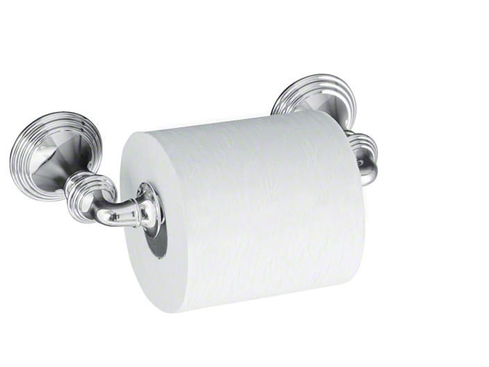 KOHLER Canada: K-10554: Devonshire® toilet tissue holder, double post: Accessories: Bathroom