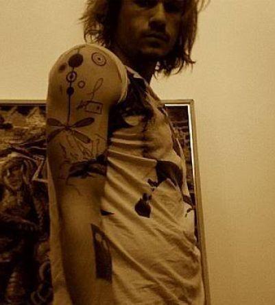 Heath Ledger - Tattoos.net