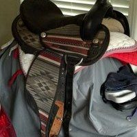 Synthetic Western Saddle for sale in Athens, Georgia :: HorseClicks
