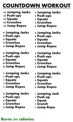 must try workout!