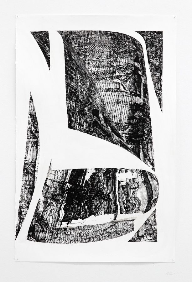 Jacob, Turning the page. 2013, Fine art print and ink, 68x42 cm