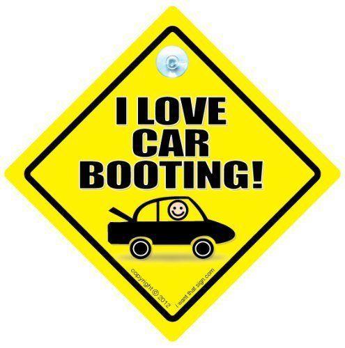 I Love Voiture Démarrage Panneau De Voiture, Coffre Botte Fair, Signe Drôle, Autocollant Sticker, Tailgater BébéÀ Bord, Décalque, à bord…