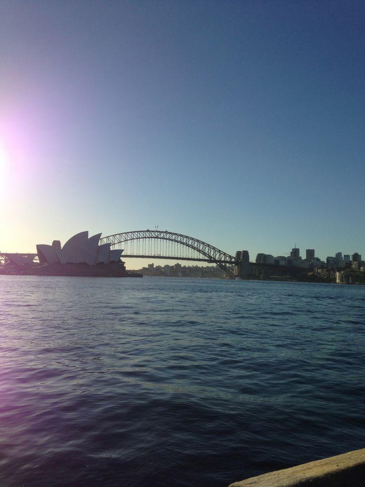 sydney bridge and opera house