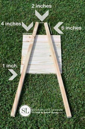 How to Make a Wooden Wheelbarrow Planter | fall wheelbarrow outdoor pumpkin display - bystephanielynn