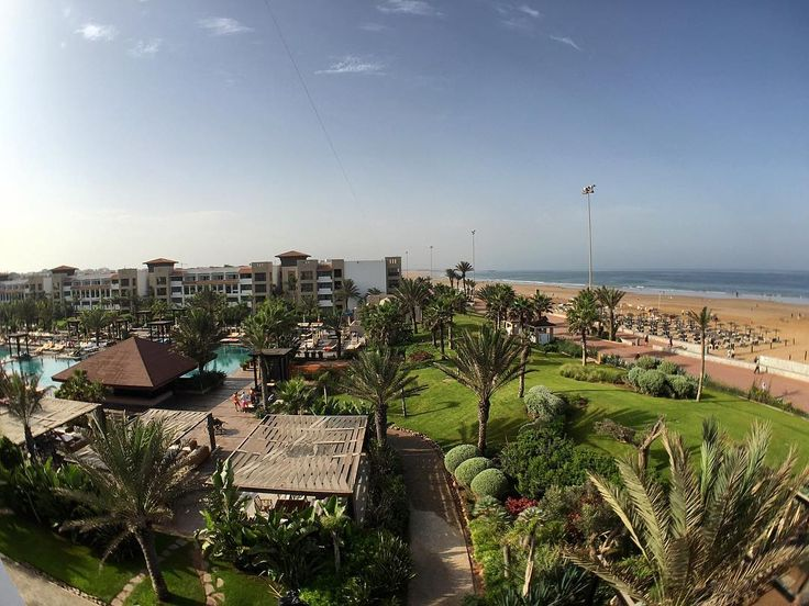With the Junior Suite here at Riu's Tikida Palace in #Agadir #Morocco these are the amazing beach & pool views you get   Double tap if you'd want to wake up to this!!!