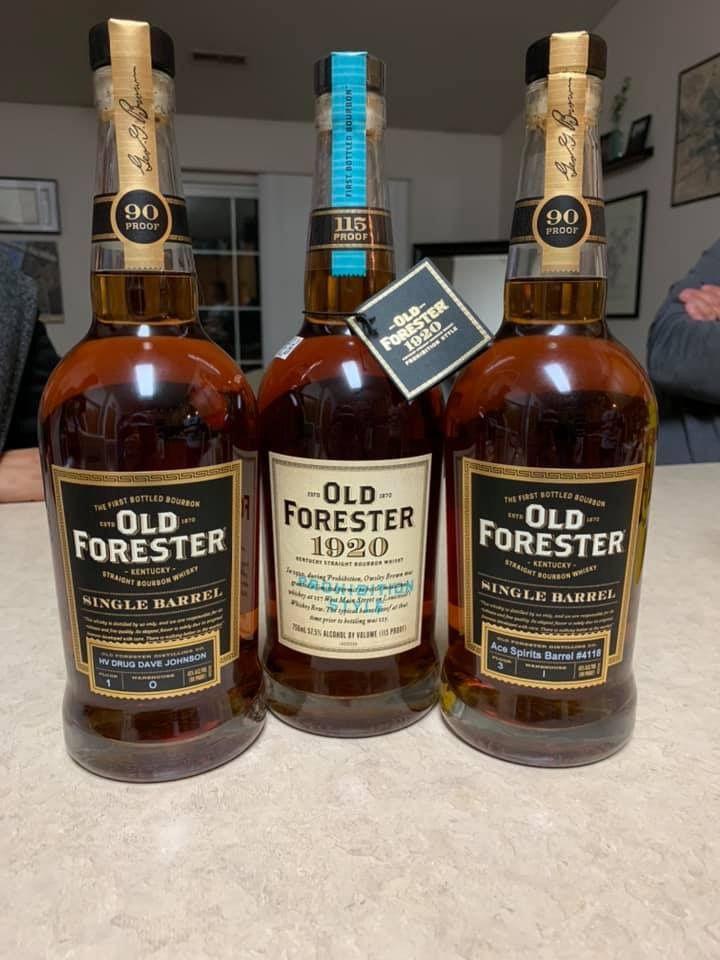 Old Forester Bourbon Bourbon Whiskey Best Bourbons