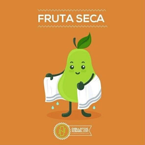 Fruta seca.