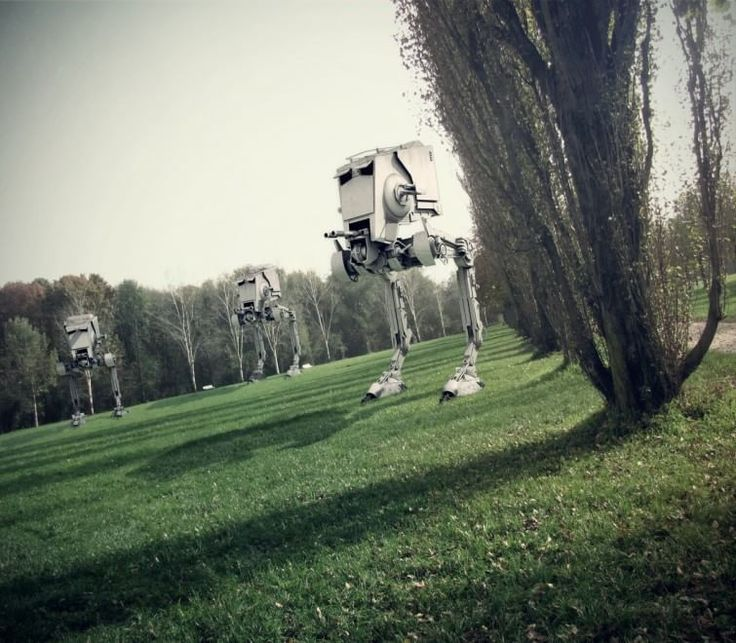 Star Wars a Milano, il fotomontaggio è d'autore