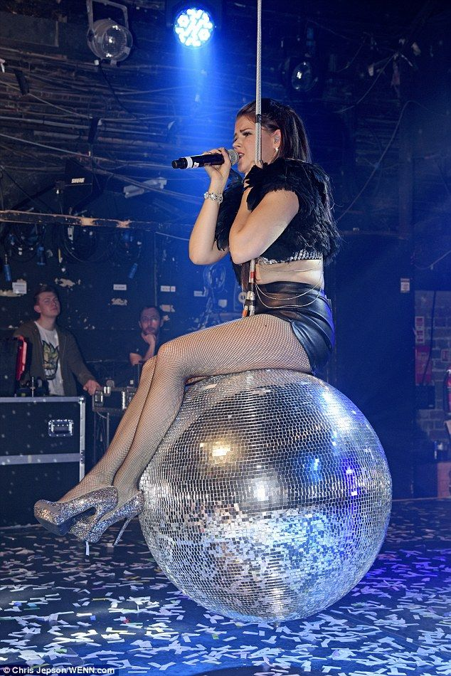 Disco, disco! Saara Aalto, who finished second on the talent hunt, is ensuring her legacy lives on as she put on a show-stopping display during a performance at G-A-Y in London on Saturday night