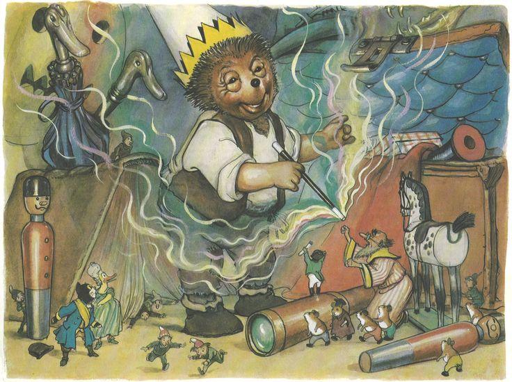 Mecki bei den 7 Zwergen Märchen/Abenteuer im Comic-Stil Zeichner: Professor Wilhelm Petersen Zeichnung der Mecki-Figur nach Diehl-Film / Lingen Verlag (Köln / Deutschland; 1979) ex libris MTP www.meckiseite.de/ de.wikipedia.org/wiki/Mecki