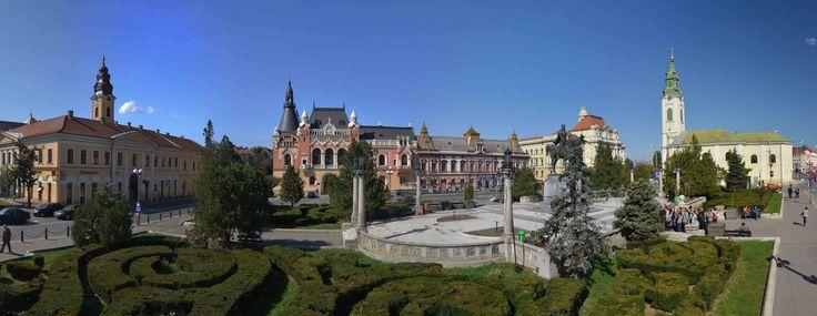 Oradea: Stadtzentrum