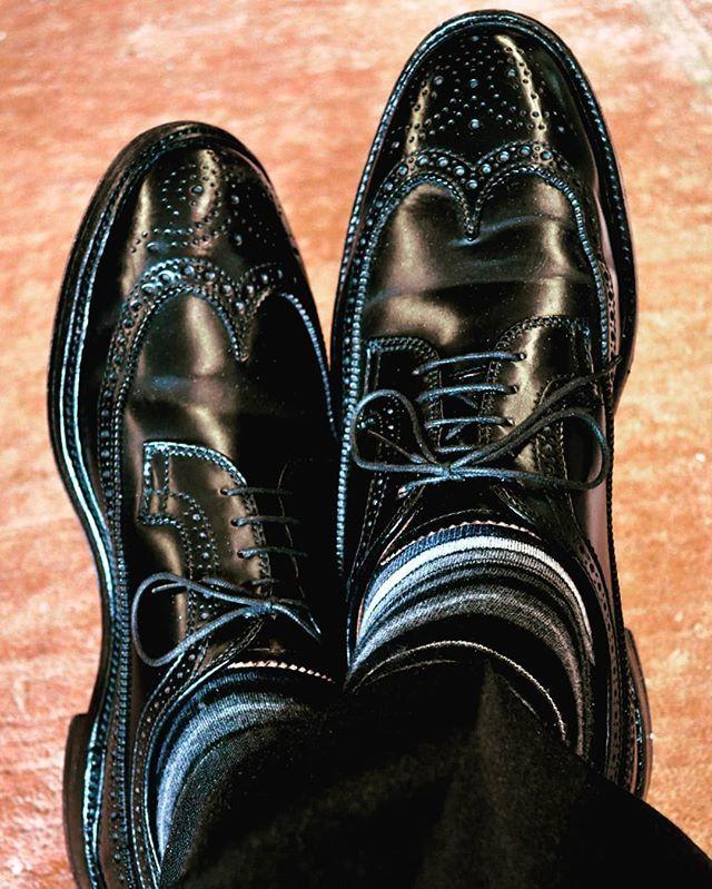 influencer_aliknecht wearing ALDEN Cordovan  #shoes#shoewear #fineshoewear #schuhe #schoeneschuhe #herrenschuhe #rahmengenäht #budapester #welted #herrenmode #gentleman #gentlemen #gentlemanstyle #alden #aldenshoes #cordovan 2018/02/01 02:23:07