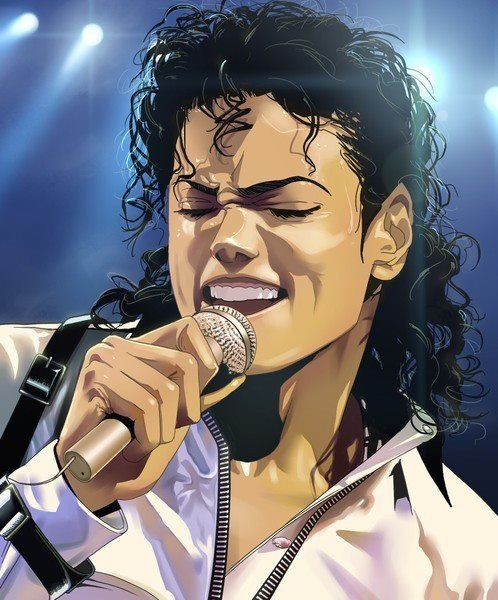 Michael Jackson art, not sure by who tho