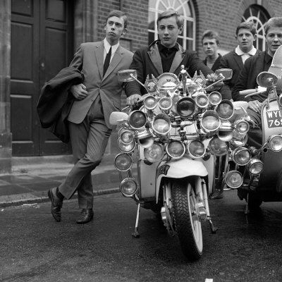 Youth Culture Mod Mods Swinging Sixties Collection Photographic Print - AllPosters.co.uk