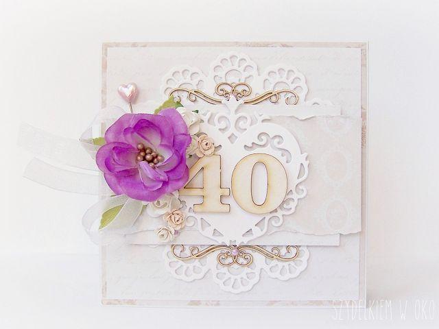 Kartka na rocznicę ślubu / Card for wedding anniversary