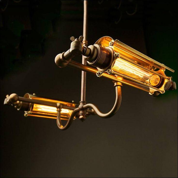 Лампочки Эдисона в стиле стимпанк