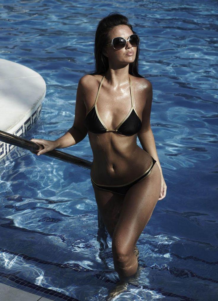 Casually amy acker bikini