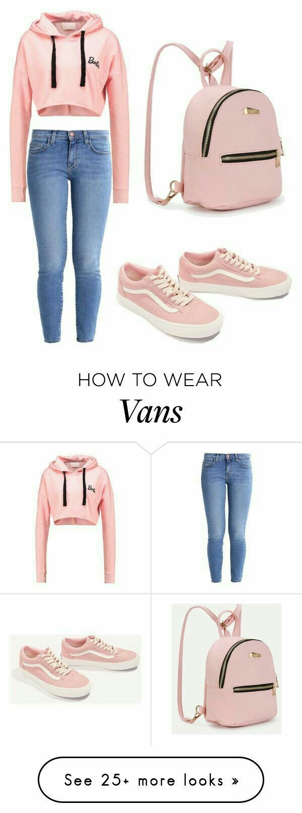 Pink lover like me? Then you'll love this look. #OOTD #AllPink #PinkVans #MomStyle #Cute