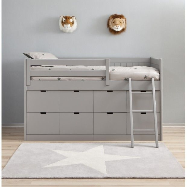 Block Bed BAHIA great storage under bed could create using ikea kura as base