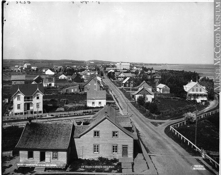 Roberval vers 1903