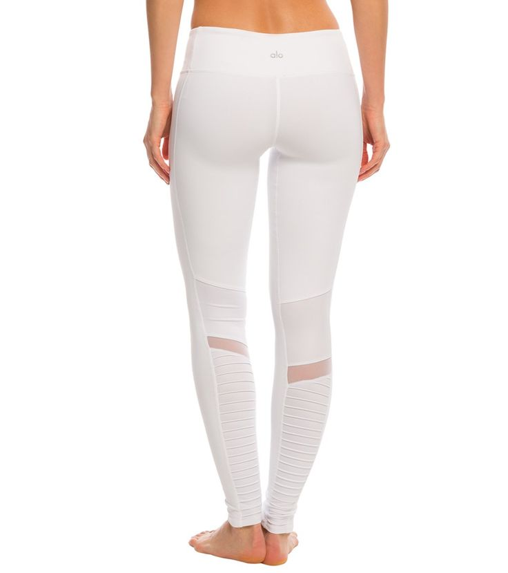 Alo Athena Moto Yoga Leggings at SwimOutlet.com - The Web's most popular swim shop