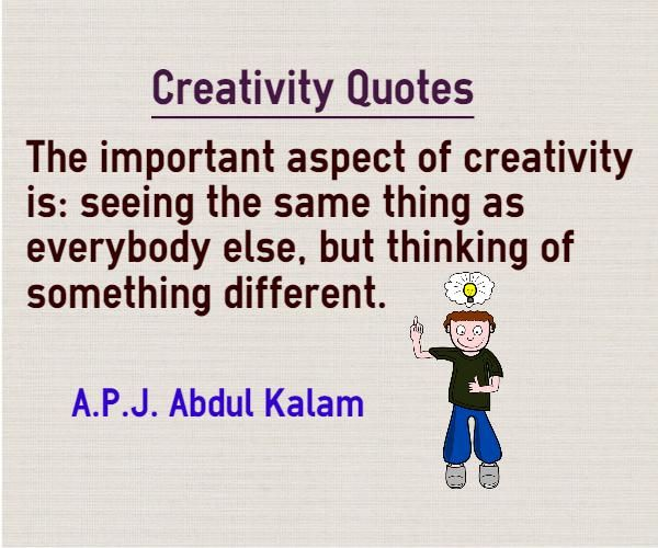 1 1 analyse the differences between creative learning and creativity Distinct differences life is not linear  learning to be creative  books about creativity are not always creative ken robinson's is a welcome exception: a.
