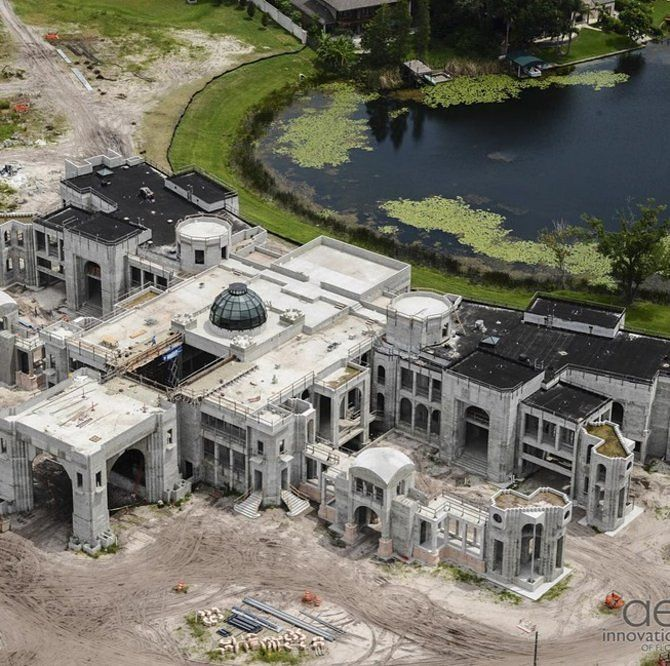 America's Newest Super-Mansion Will Rival Florida's